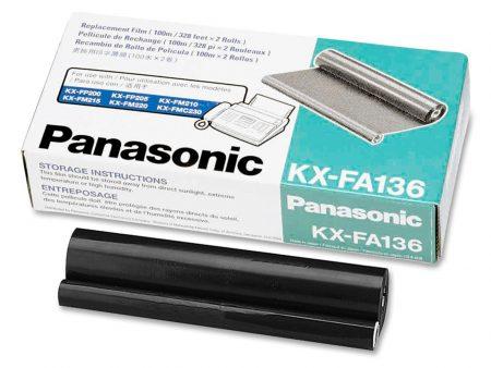 Phim fax Panasonic KX-FA136 – Cho máy fax KX-FP 105/ 121/ 200/ 250/ 260/ 302/ 1010/ 1110