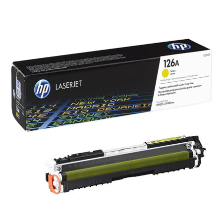 Hộp mực màu HP 126A (vàng) – Cho máy HP Color CP1020/ CP1025/ CP1025nw