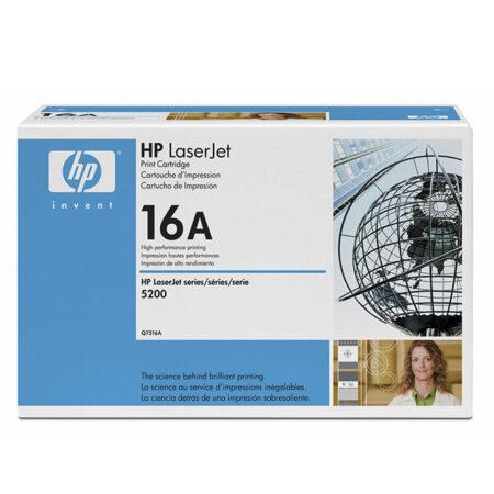 Hộp mực in HP 16A (Q7516A) – Cho máy in HP 5200/ 5200n/ 5200tn/ 5200l