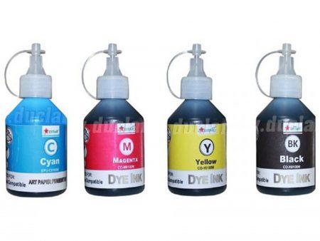 Bộ mực Dye 4 màu cho máy in phun màu Epson (100ml)