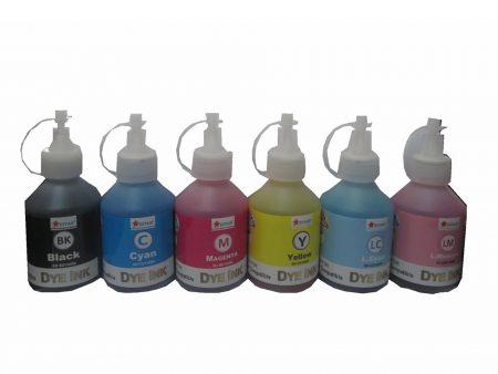 Bộ mực Dye 6 màu cho máy in phun màu Epson (100ml)