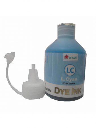 Mực Dye Estar màu xanh nhạt cho máy in phun màu Epson (100ml)