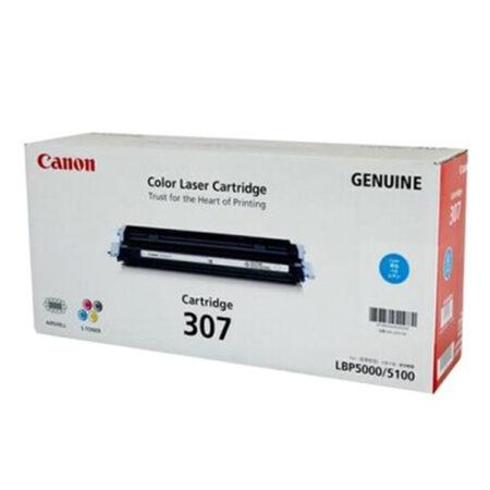Hộp mực màu Canon 307 (xanh) – Dùng cho máy LBP 5000/ 5100