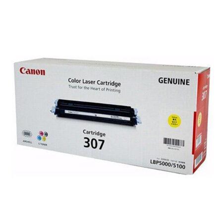 Hộp mực màu Canon 307 (vàng) – Dùng cho máy LBP 5000/ 5100