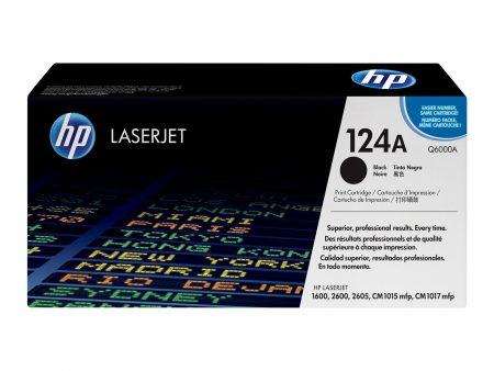 Hộp mực màu HP 124A (đen) – Dùng cho máy HP Color 1600/ 2600n