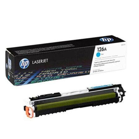 Hộp mực màu HP 126A (xanh) – Cho máy HP Color CP1020/ CP1025/ CP1025nw