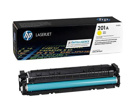 Hộp mực màu HP 201A (vàng) – Cho máy HP Color M252n/ M252dw/ M277dn/ M277dw