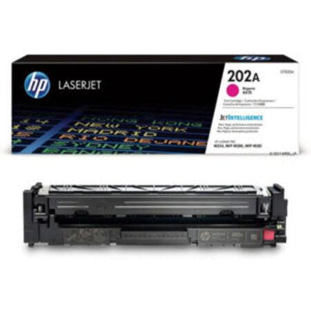 Hộp mực màu HP 202A (đỏ) – Cho máy HP Color M254nw/ M254dw/ M280nw/ M281fdn/ M281fdw
