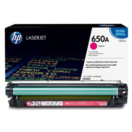 Hộp mực màu HP 650A (đỏ) – Cho máy HP Color CP5525n/ CP5225dn/ M750n/ M750dn