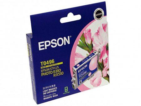 Mực in phun Epson T0496 (đỏ nhạt) – Cho máy R210/ R230/ R310/ R350, RX-510/ 630/ 650