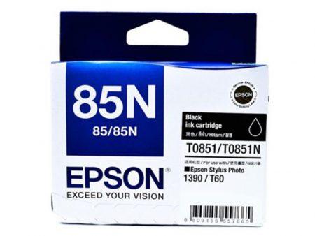 Mực in màu Epson T0851 (đen) – Dùng cho máy Epson t60/ 1390