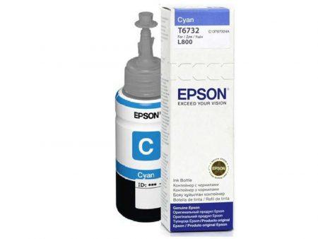 Mực in Epson T6732 (xanh) – Dùng cho máy Epson L1800/ L800/ L805/ L850