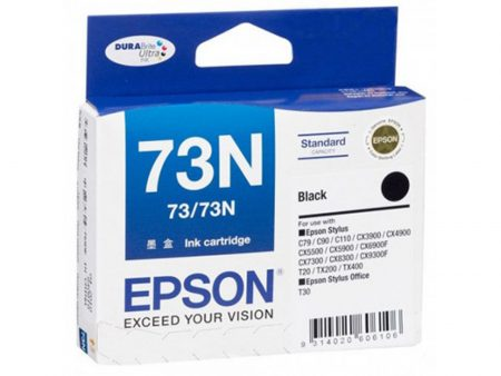 Mực in phun Epson T0731 (đen) – Cho máy T30/ TX110/ TX121/ TX200/ TX400/ CX8300/ CX6900F/ C90/ C110