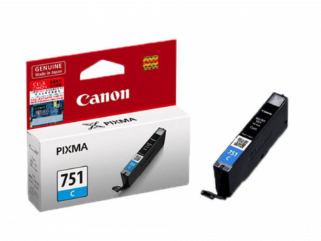 Mực in phun Canon CLI 751C (xanh) – Cho máy iX6770/ iP7270/ 8770, MG7170/ 7570