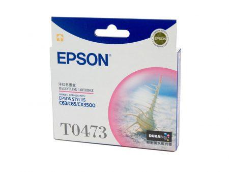 Mực in phun Epson T0473 (đỏ) – Cho máy C63/ C65/ C83/ C85/ CX4500/ 6500