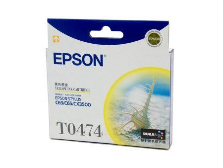 Mực in phun Epson T0474 (vàng) – Cho máy C63/ C65/ C83/ C85/ CX4500/ 6500