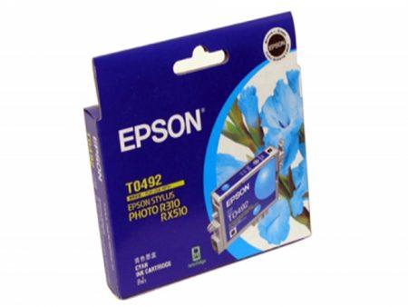 Mực in phun Epson T0492 (xanh) – Cho máy R210/ R230/ R310/ R350, RX-510/ 630/ 650