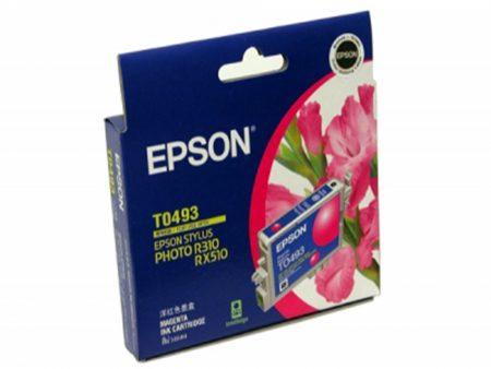 Mực in phun Epson T0493 (đỏ) – Cho máy R210/ R230/ R310/ R350, RX-510/ 630/ 650