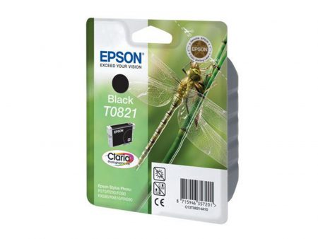Mực in phun Epson T0821 (đen) – Dùng cho máy in Epson t50