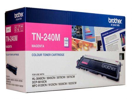 Hộp mực màu Brother TN 240M (đỏ) – Cho máy 3040Cn/ 9010Cn/ 9120Cn/ 9320Cw