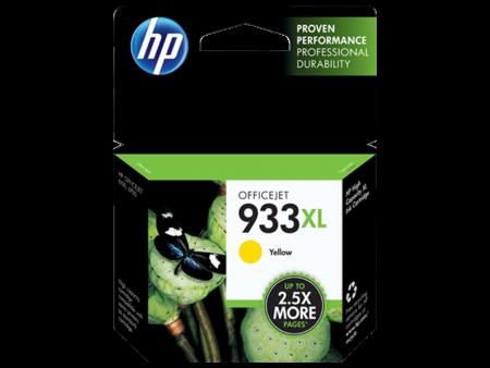 Mực in phun HP 933XL (vàng) – Cho máy HP OfficeJet 6100/ 7110/ 7610/ 7612