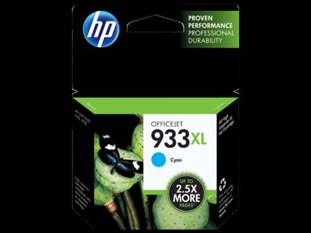 Mực in phun HP 933XL (xanh) – Cho máy HP OfficeJet 6100/ 7110/ 7610/ 7612