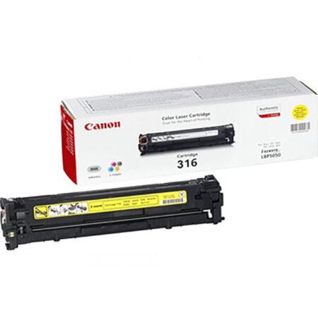 Hộp mực màu Canon 316Y (vàng) – Cho máy in Canon LBP 5050/ 5050n