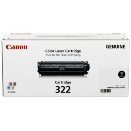 Hộp mực màu Canon 322BK (đen) – Cho máy Canon LBP 9100/ 9500/ 9600cdn