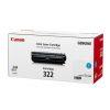 Hộp mực màu Canon 322C (xanh) - Cho máy Canon LBP 9100/ 9500/ 9600cdn