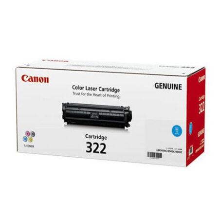 Hộp mực màu Canon 322C (xanh) – Cho máy Canon LBP 9100/ 9500/ 9600cdn