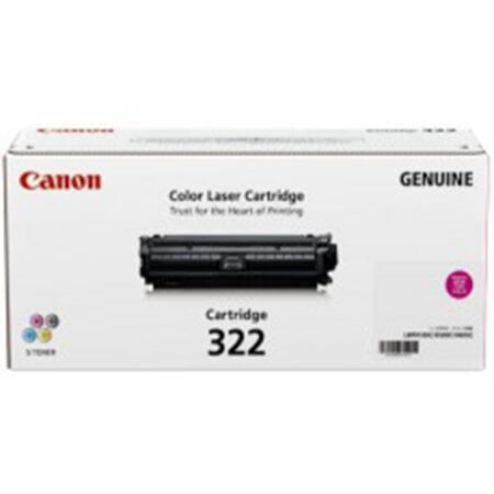 Hộp mực màu Canon 322M (đỏ) – Cho máy Canon LBP 9100/ 9500/ 9600cdn