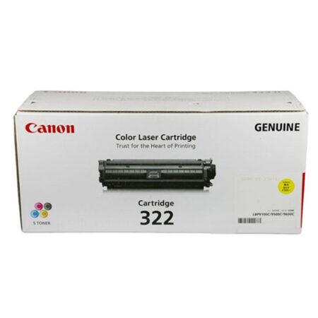 Hộp mực màu Canon 322Y (vàng) – Cho máy Canon LBP 9100/ 9500/ 9600cdn