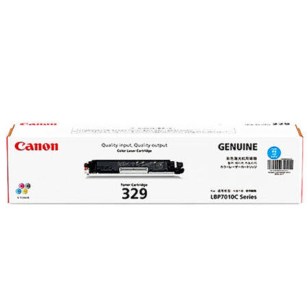 Hộp mực màu Canon 329C (xanh) – Cho máy Canon LBP 7010C/ 7018C