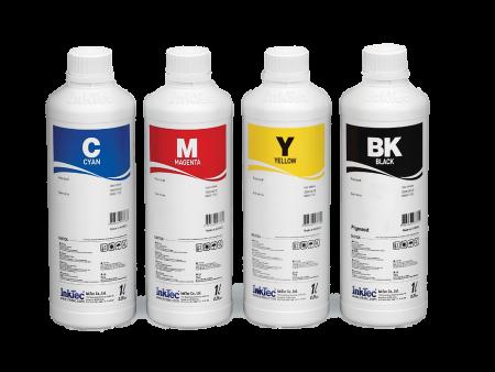 Bộ mực nước Inktec 4 màu cho máy in phun Canon (1 lít)