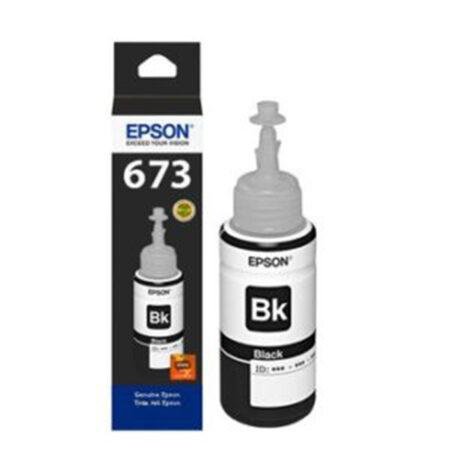 Mực in Epson T6731 (đen) – Dùng cho máy Epson L1800/ L800/ L805/ L850