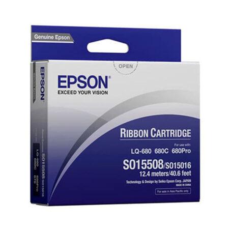 Ruy băng mực Epson S015508 – Cho máy LQ-680/ 670/ 630/ 860/ 1060/ 2550