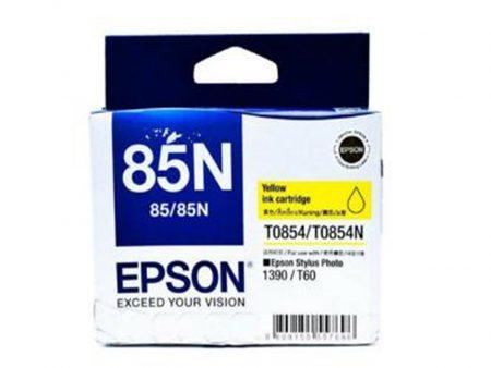 Mực in Epson T0854 (vàng) – Dùng cho máy Epson t60/ 1390
