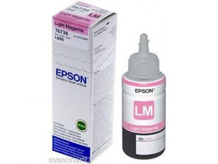 Mực in Epson T6736 (đỏ nhạt) – Dùng cho máy Epson L1800/ L800/ L805/ L850