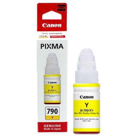 Mực in Canon GI 790Y (vàng) – Dùng cho máy G1000/ G2000/ G3000