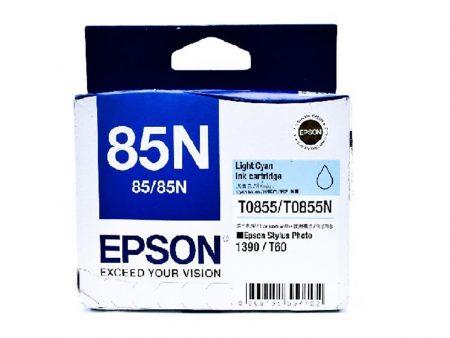 Mực in Epson T0855 (xanh nhạt) – Dùng cho máy Epson t60/ 1390