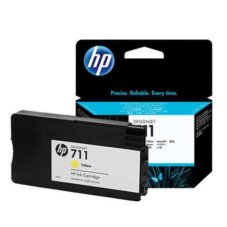 Mực in phun HP 711 (vàng) – Dùng cho máy HP DesignJet T520