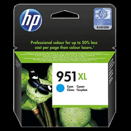 Mực in phun HP 951XL (xanh) – Cho máy HP OfficeJet 8100/ 8600/ 8610/ 8620