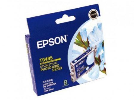 Mực in phun Epson T0495 (xanh nhạt) – Cho máy R210/ R230/ R310/ R350, RX-510/ 630/ 650