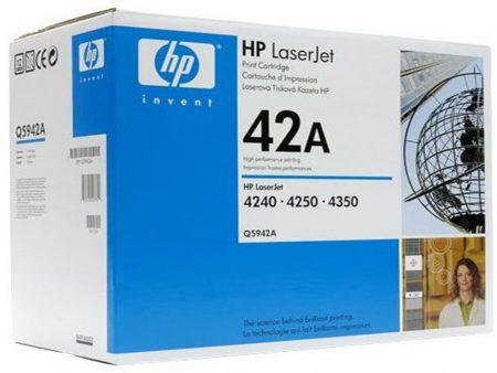 Hộp mực in HP 42A (Q5942A) – Dùng cho máy in HP 4240/ 4250/ 4350