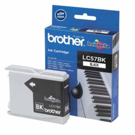 Mực in phun Brother LC57BK (đen) – Cho máy DCP-130C/ 330C/ 540Cn/ MFC-240C/ 665Cw/ 3360C