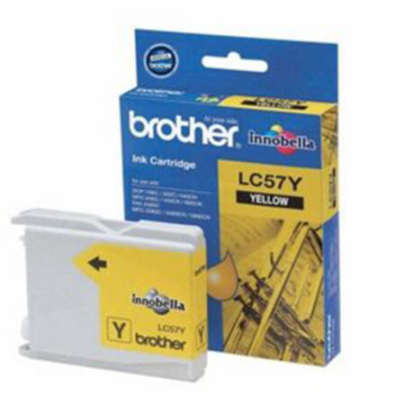 Mực in phun Brother LC57Y (vàng) – Cho máy DCP-130C/ 330C/ 540Cn/ MFC-240C/ 665Cw/ 3360C