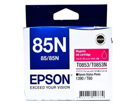 Mực in Epson T0853 (đỏ) – Dùng cho máy Epson t60/ 1390