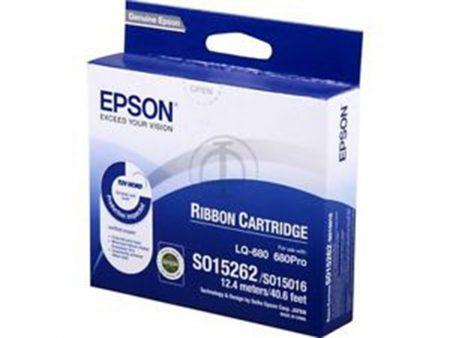 Ruy băng mực Epson S015508 – Cho máy in kim LQ-680/ 670/ 630/ 860/ 1060/ 2550
