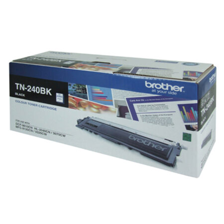 Hộp mực màu Brother TN 240BK (đen) – Cho máy 3040Cn/ 9010Cn/ 9120Cn/ 9320Cw
