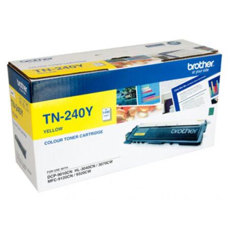 Hộp mực màu Brother TN 240Y (vàng) – Cho máy 3040Cn/ 9010Cn/ 9120Cn/ 9320Cw